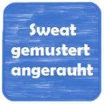 Sweat gemustert angerauht
