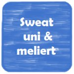 Sweat uni & meliert