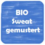 Bio-Sweat gemustert