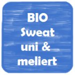 Bio-Sweat uni & meliert